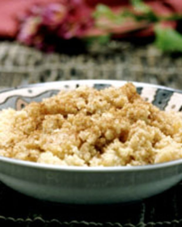 Cinnamon and Apple Couscous