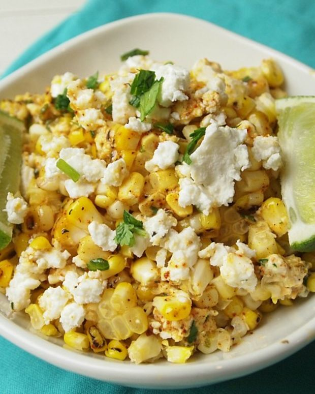 "Mexican Corn ""Mac"" and Cheese"