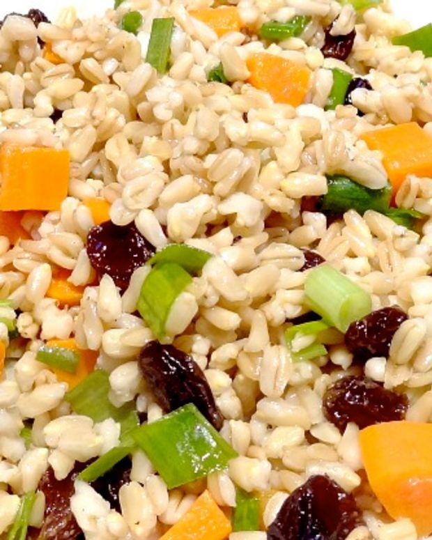 Oat Groat Salad