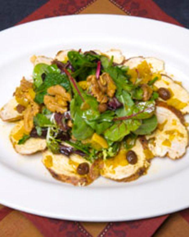 Royal Walnut Spiced Chicken Salad