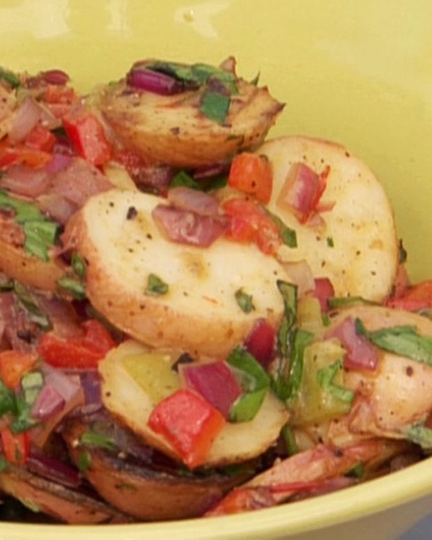 Idaho® Potato Salad with Peppers & Onions