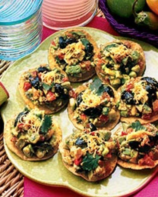 Avocado 'N Olive Tostaditos