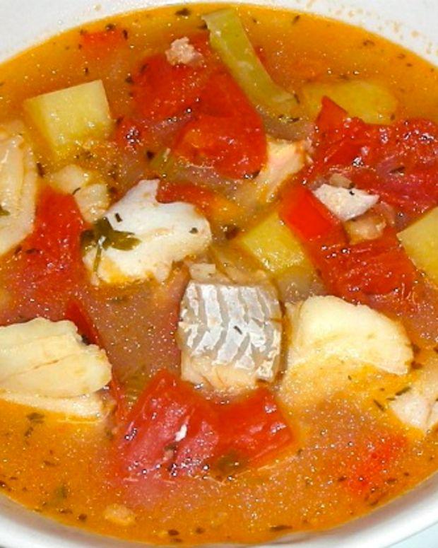 Fish and Tomato Chowder