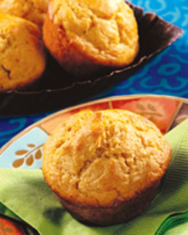 Corn and Soy Muffins