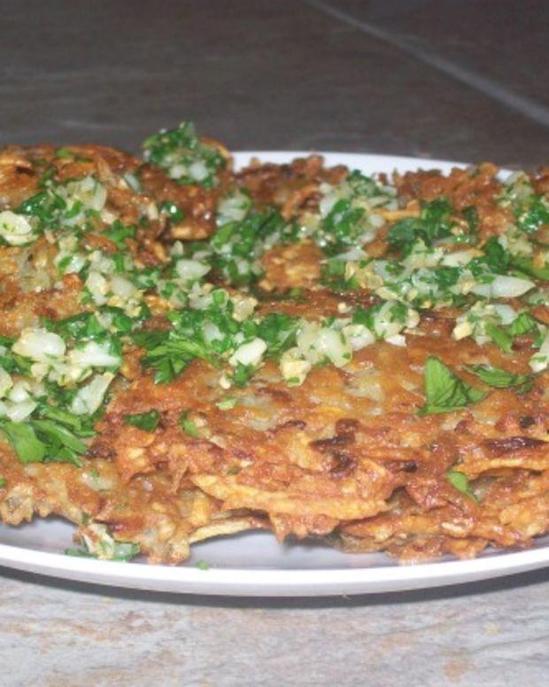 Garlicky Potato Latkes
