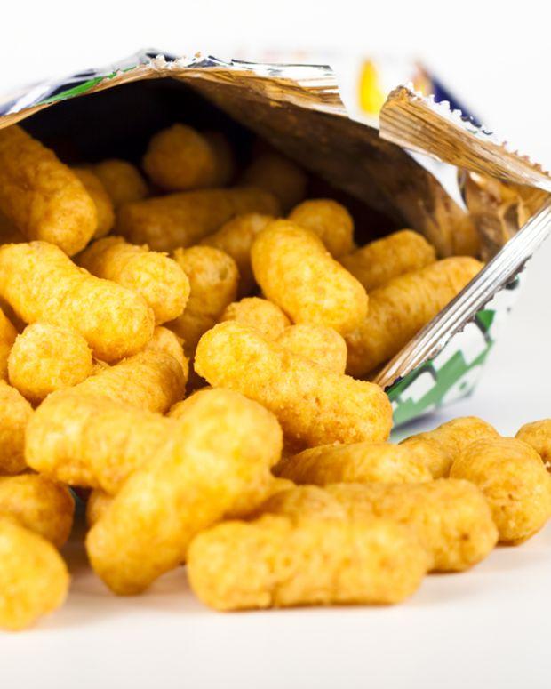 bamba snack inspired mousse