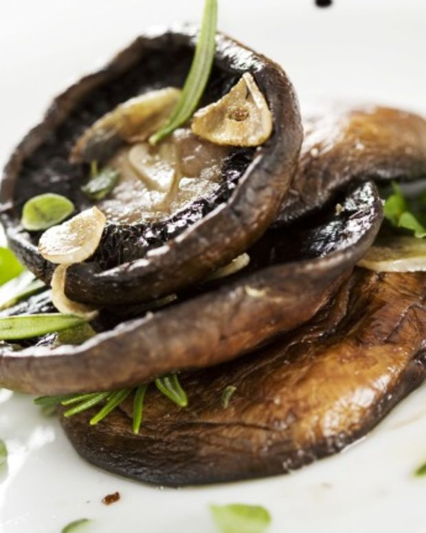 balsamic portobello mushrooms roasted