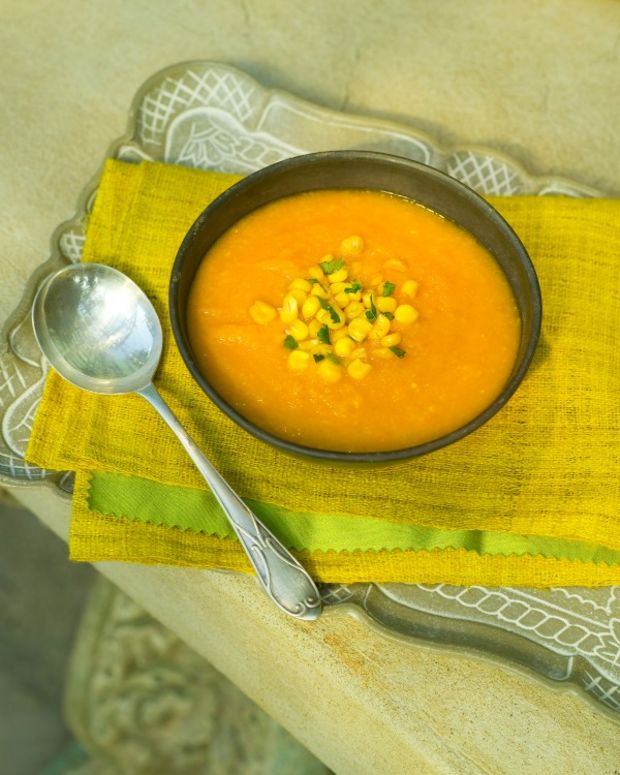 carrot and corn soup