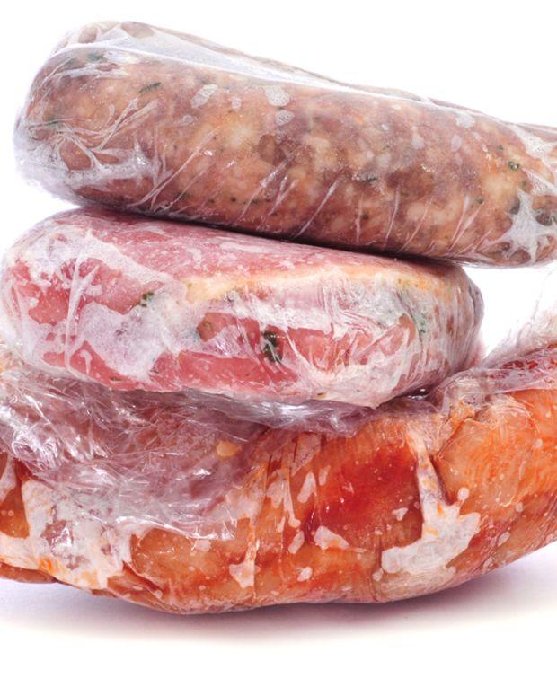 freezing meat