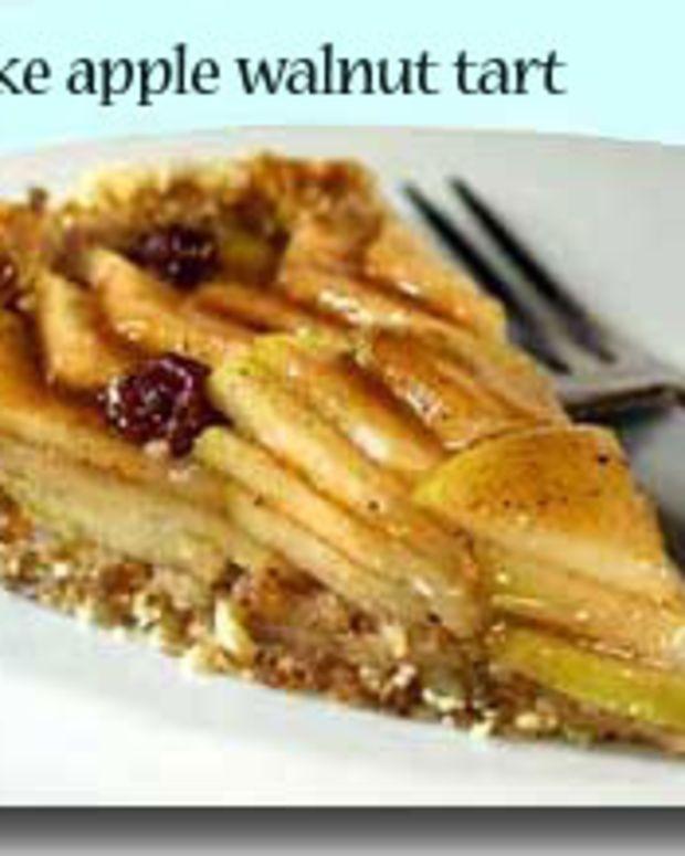 No-Bake Apple Walnut Tart