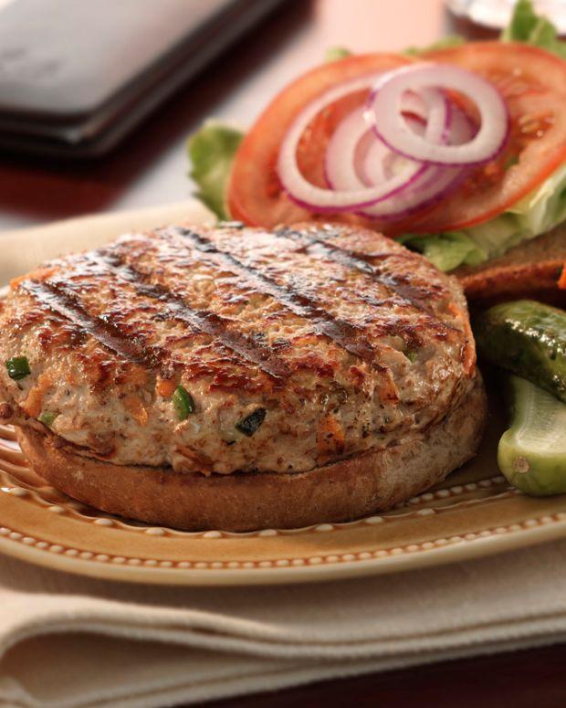 Traditional Turkey Burger