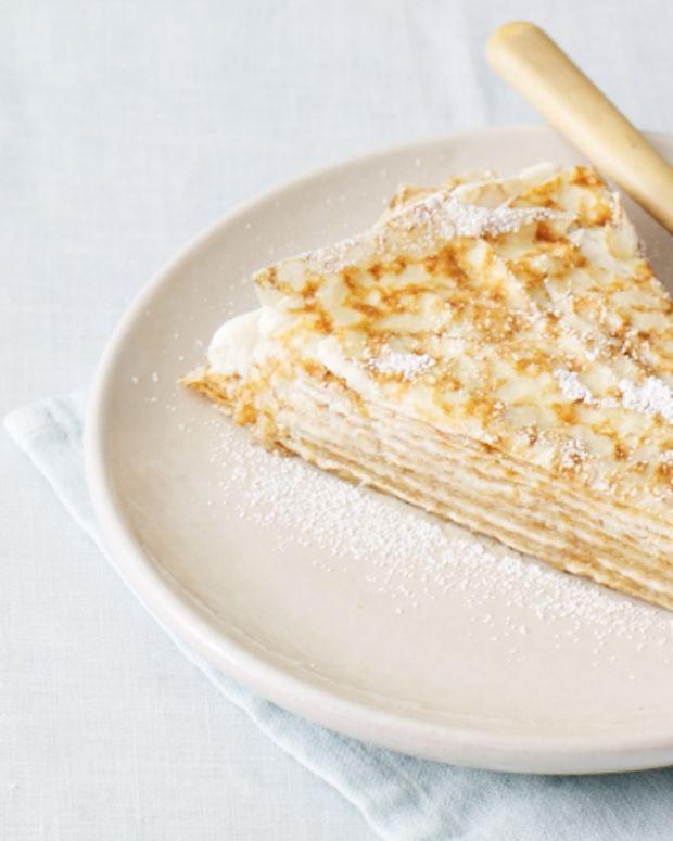 Coffee Crêpe Cake