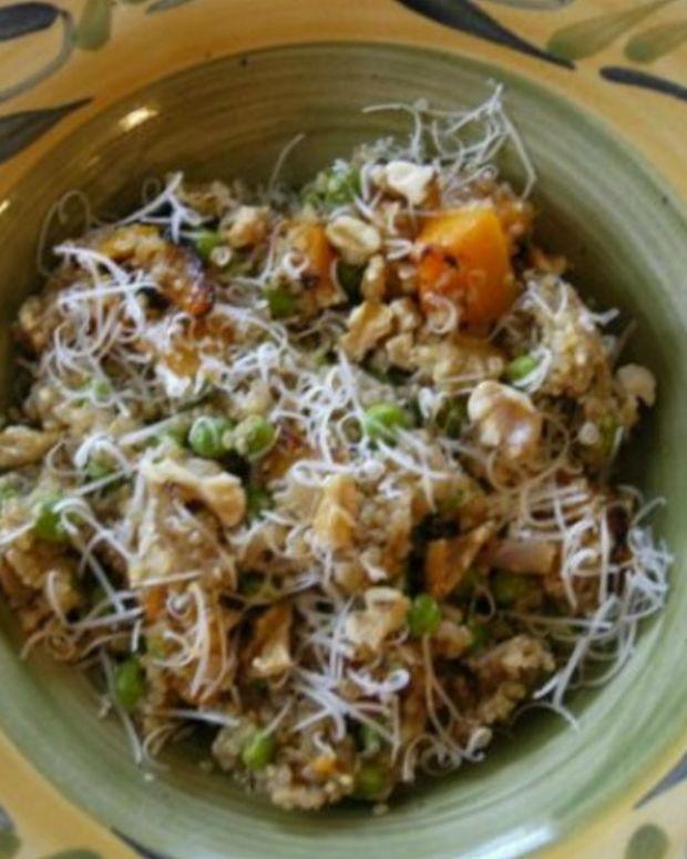 Quinoa Risotto with Butternut Squash