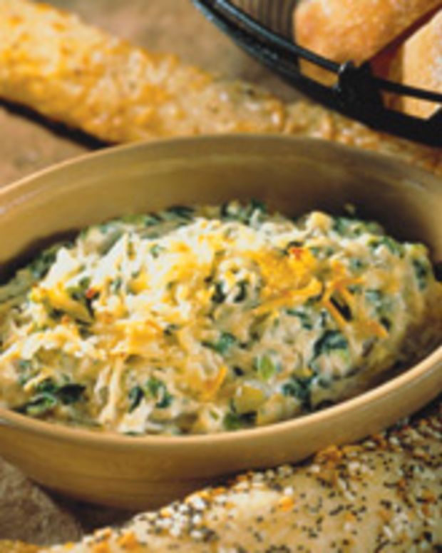 Soy and Spinach Artichoke Dip