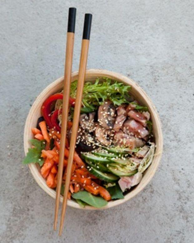 gorgeous mushroom salad