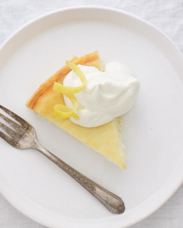 Low-Fat Lemon Cheesecake