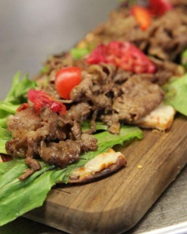 Kobe Beef Pizza - Kosher