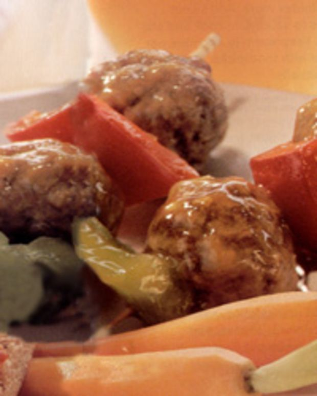 Five-Spice Appetizer Meatballs