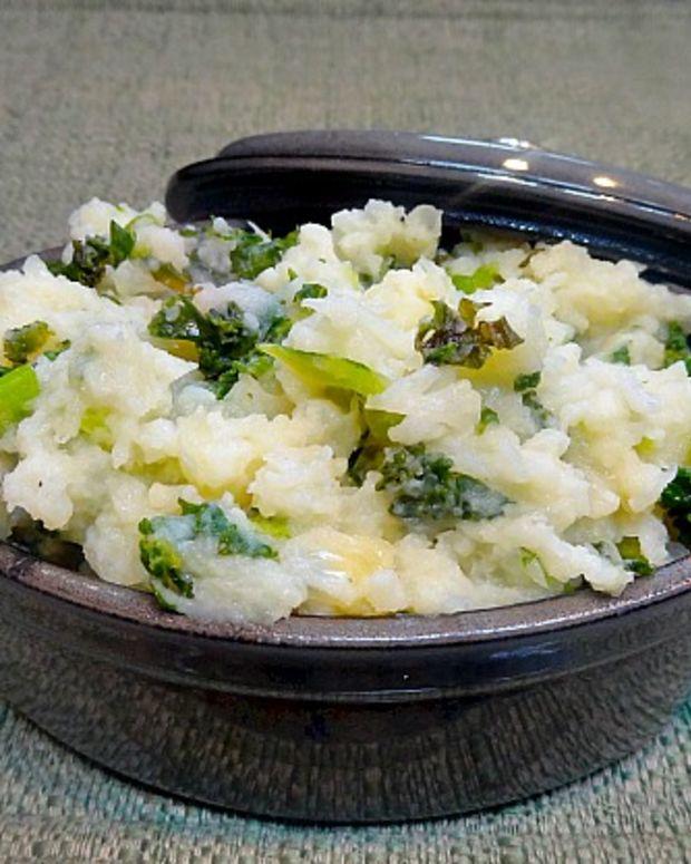 Kale and Potatoes