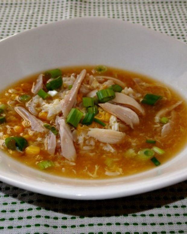 chicken egg drop soup