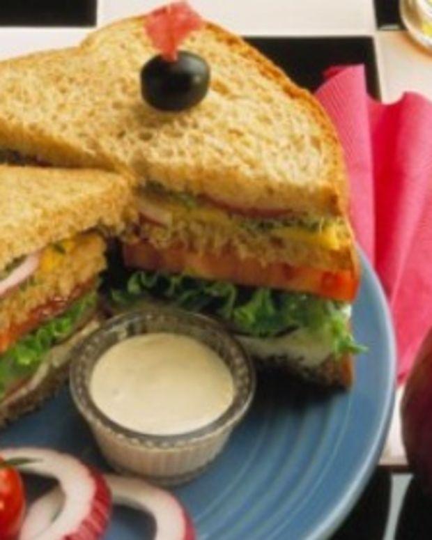 Hearty Onion-Veggie Sandwich