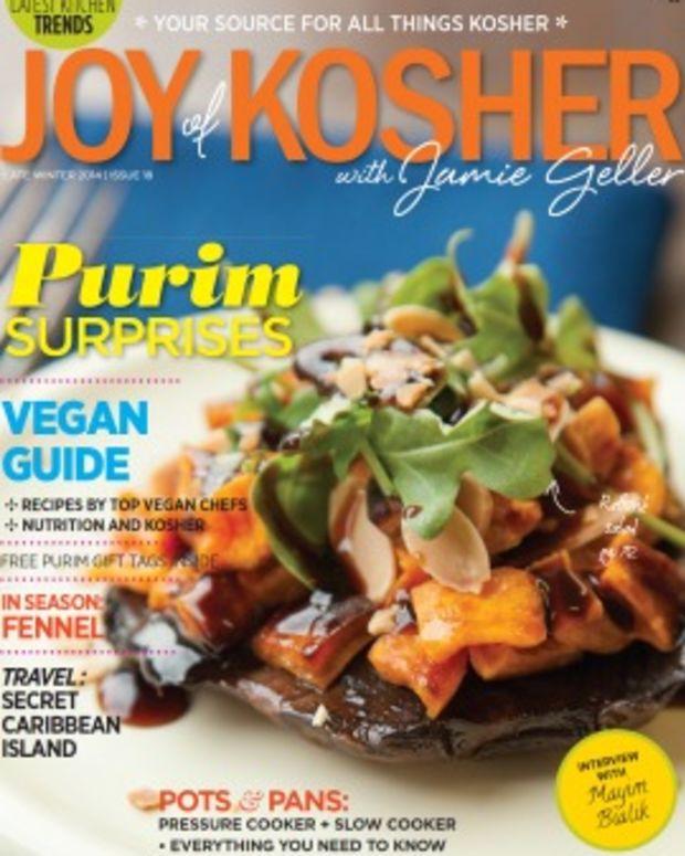 joy of kosher purim cover small