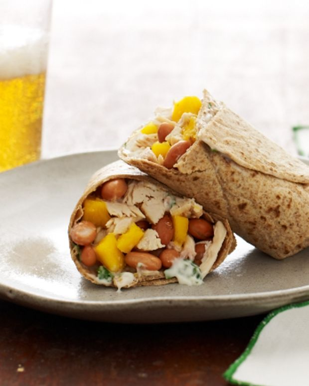Tropical Chicken Burrito