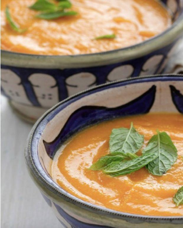Carrot Bisque Purim SoupFI