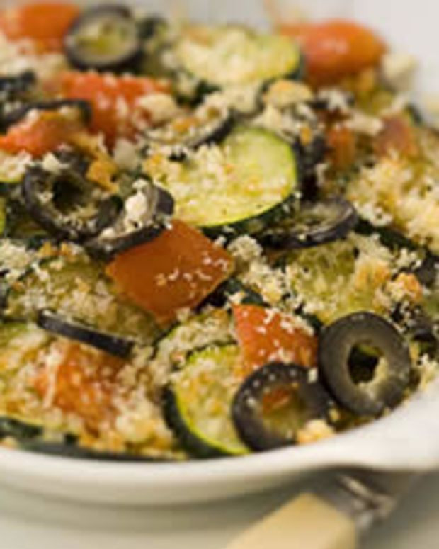 Provencal Zucchini Gratin