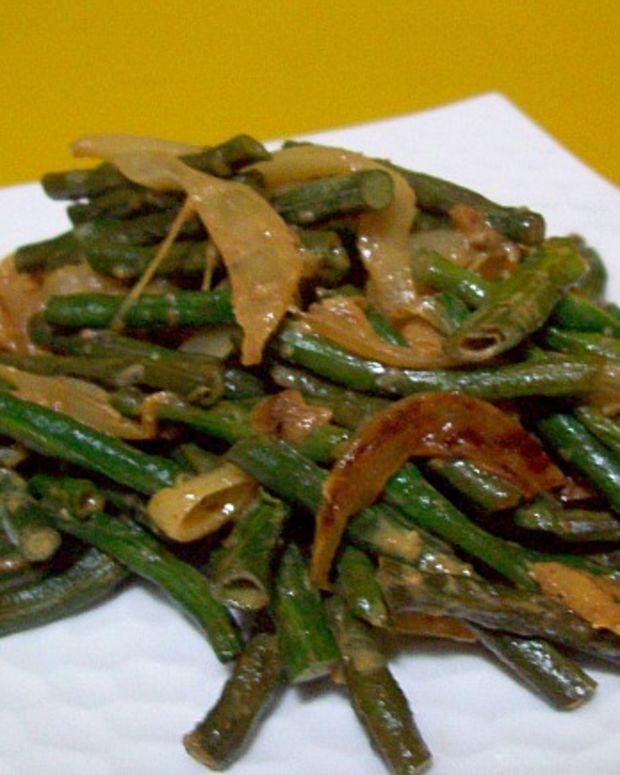 long bean curry