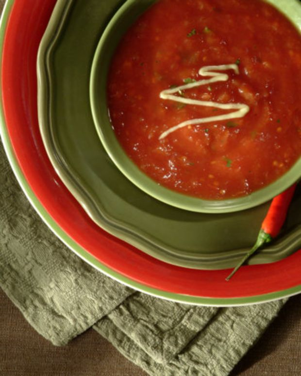 Creamy Hot Tomato Soup