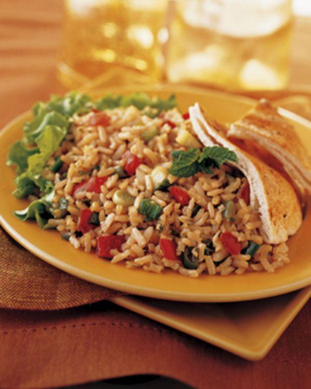 Brown Rice Tabbouleh