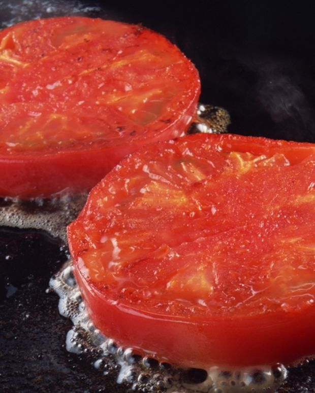 Oven-Roasted Tomato Bruschetta