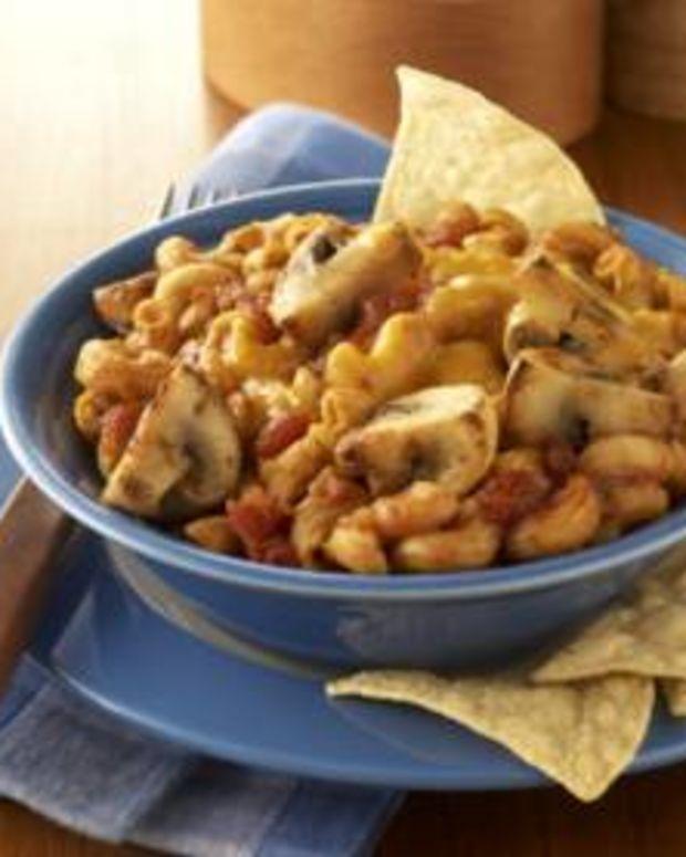 Mushroom Taco Mac