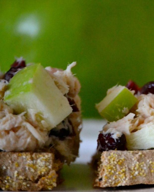 Tuna Craisin Sandwich