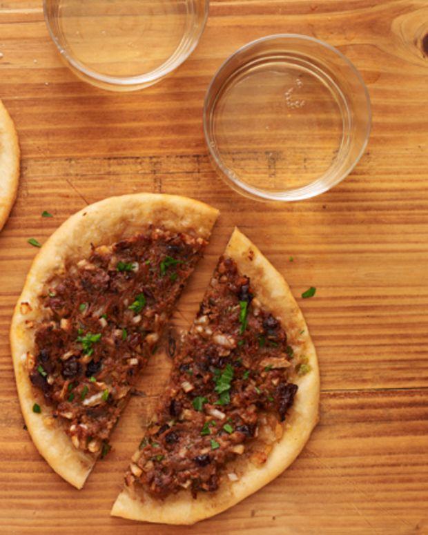 morroccan pizza