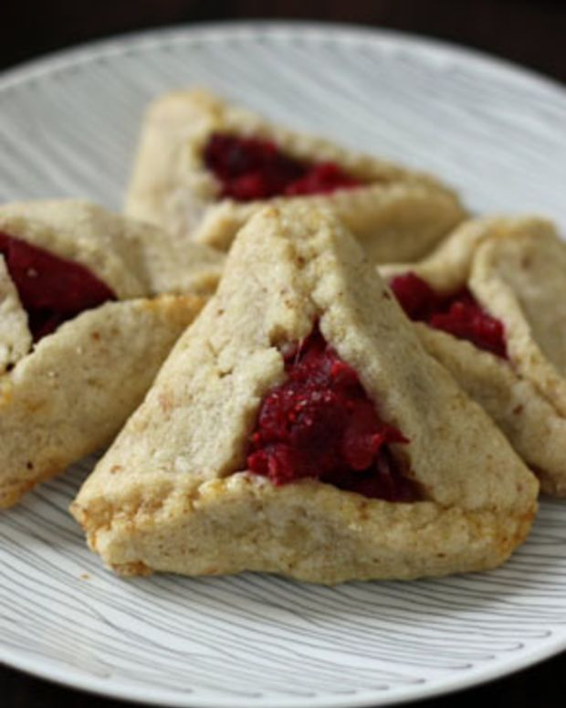 Cranberry and White Chocolate Hamentashen Recipe