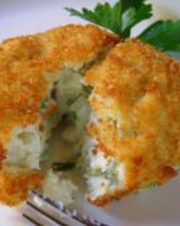 Fried Idaho® Potato Salad
