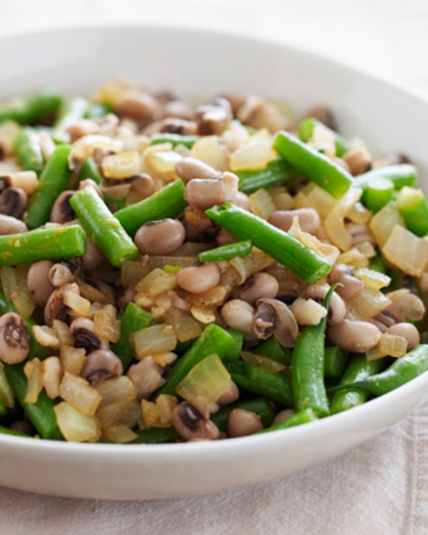 Black Eyed Peas and Green Beans