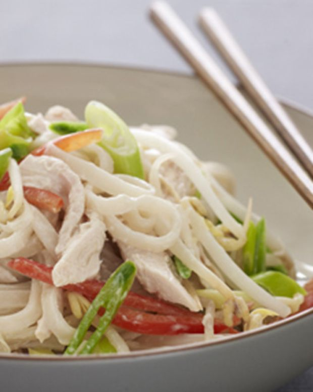 Chilled Chicken Noodle Salad