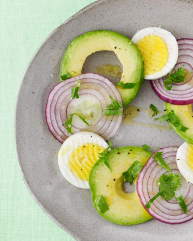 Passover Egg and Svocado Salad