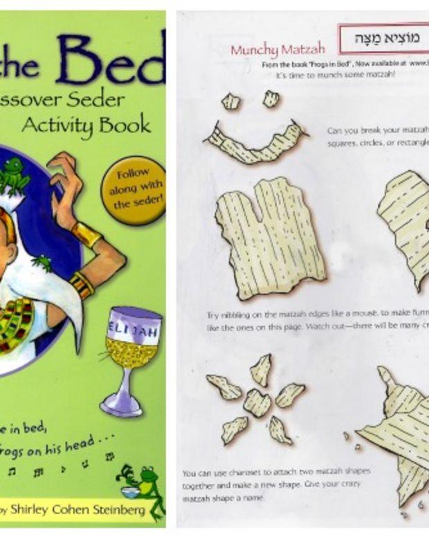 Seder Activity Book for Kids