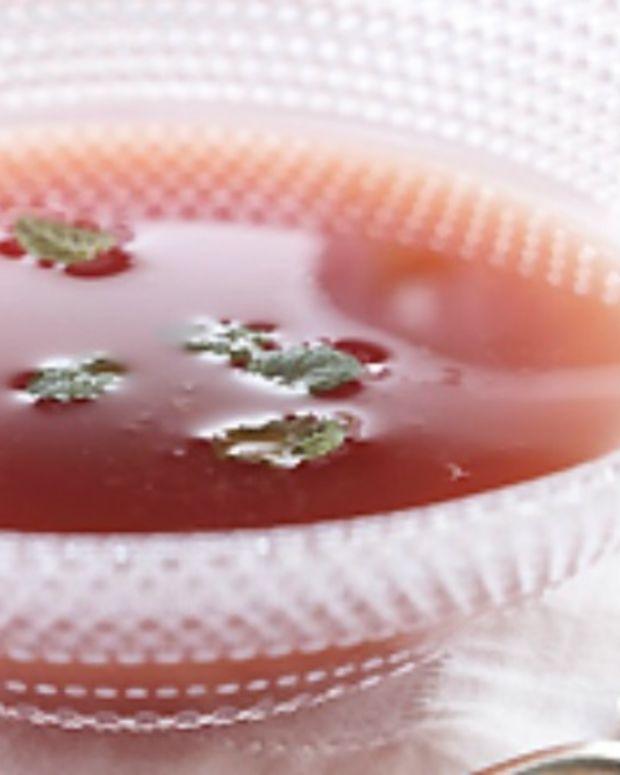 Watermelon Citrus Soup