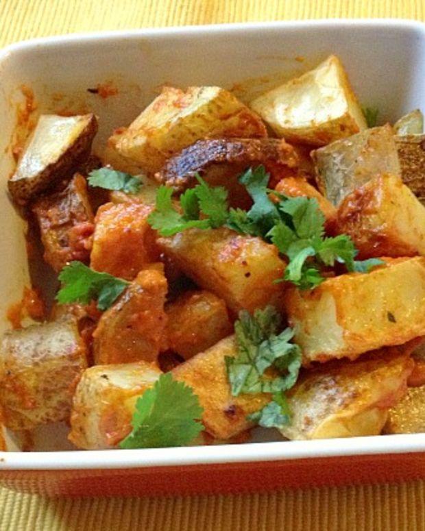 Patatas Brava With Roasted Tomato Aioli