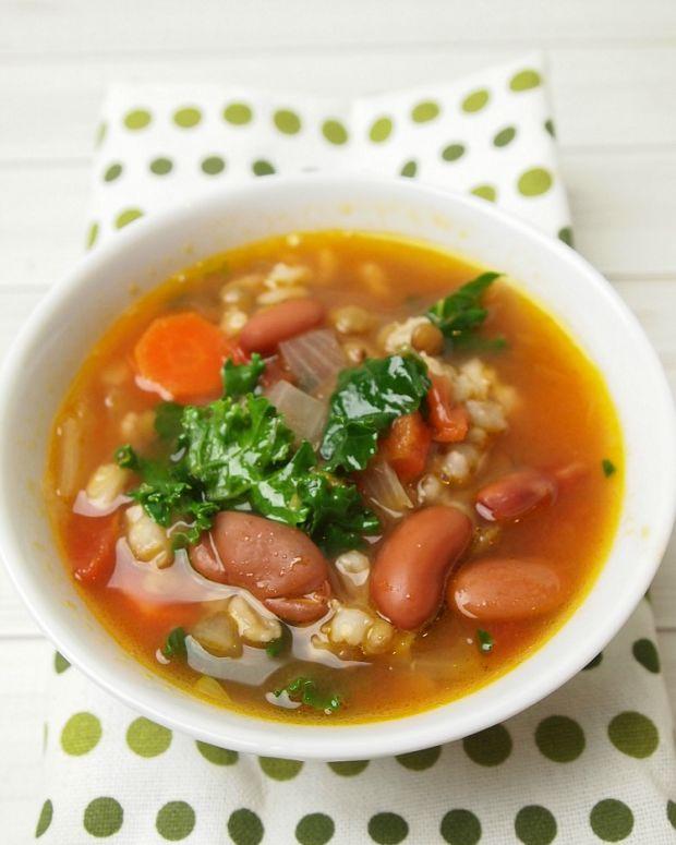 Barley Lentil Vegetable Soup