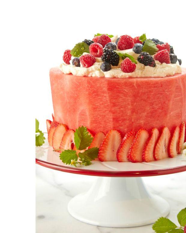 Watermelon Cake White
