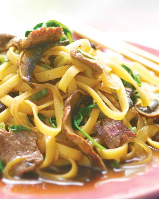 Beef Sukiyaki Noodles