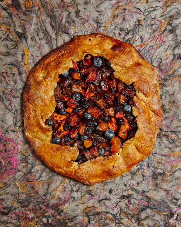 Fresh and Dried Fruit Gallette