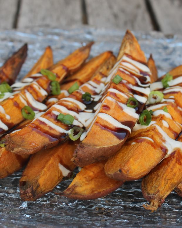 Sweet Potato Fingers