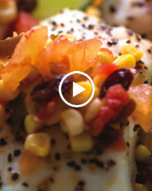 Pineapple Chutney Fish Video